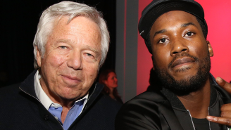 Meek Mill And Jay-Z Pitched In To Buy Robert Kraft A Bentley For His 80th Birthday And His Reaction Is Amazing