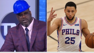 """Shaq Says If Ben Simmons Were His Teammate He """"Would've Knocked His Ass Out' Over His Poor Performance In Playoffs"""