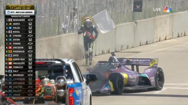 Romain Grosjean Detroit Grand Prix