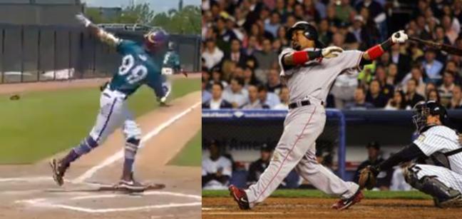 Manny Ramirez Jr. Swing