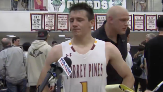 Cancer Survivor Nick Herrmann Hitting A Buzzer-Beater In The State Finals After Being Told He Might Lose His Leg Brings All Of The Feels