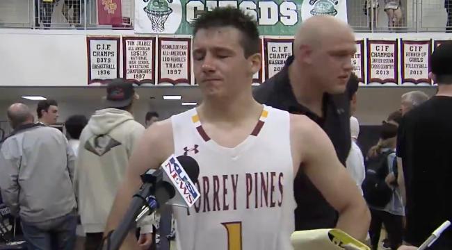 Nick Herrmann Torrey Pines Basketball