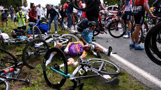Spectator Who Caused Tour De France Pileup Flees Country As Lengthy List Of Injuries Is Released