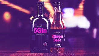 We Tried T-Mobile's 5G-Inspired Gin And It's Surprisingly Tasty For Something That Has No Reason To Exist