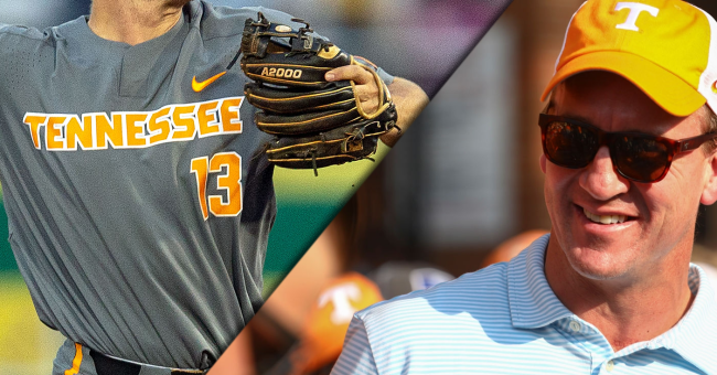 Tennessee Baseball Teams With Peyton Manning For Omaha Video
