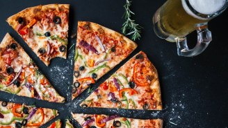 TikToker Shows How Employees Can 'Steal' A Giant Slice Of Your Pizza Before Delivering It To You