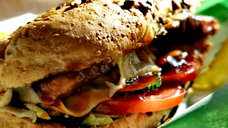 TikToker Goes Viral For Showing How She Secretly Steals Part Of Her Man's Subway Sandwich