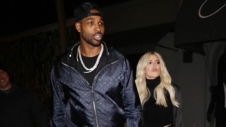 Tristan Thompson Accused Of Cheating On Khloe Kardashian Again With Three Women At Party A Day After Khloe Said She Could 'Trust' Him
