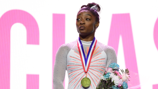 Victims Mother Charges At Simone Biles Brother Tevin Biles-Thomas After Murder Acquittal