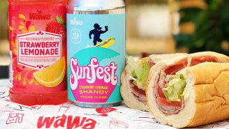 Wawa Made A Strawberry Lemonade Beer Shandy And Delco Now Has An Official Summer Drink