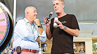 Culinary Icon Andrew Zimmern On Anthony Bourdain's True Superpower And The Merits Of Pineapple Pizza