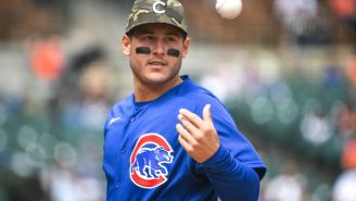 Cubs' Anthony Rizzo Says He's Not Vaccinated, Twitter Predictably Loses Its Mind