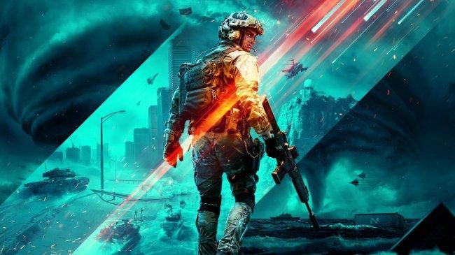 Battlefield 2042 from DICE is Battlefield 6 with modern warfare like robot dog tanks in tornadoes.