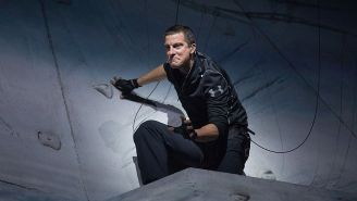 Bear Grylls Breaks Down His Torturous Military-Style Workout That Keeps His Body Shredded
