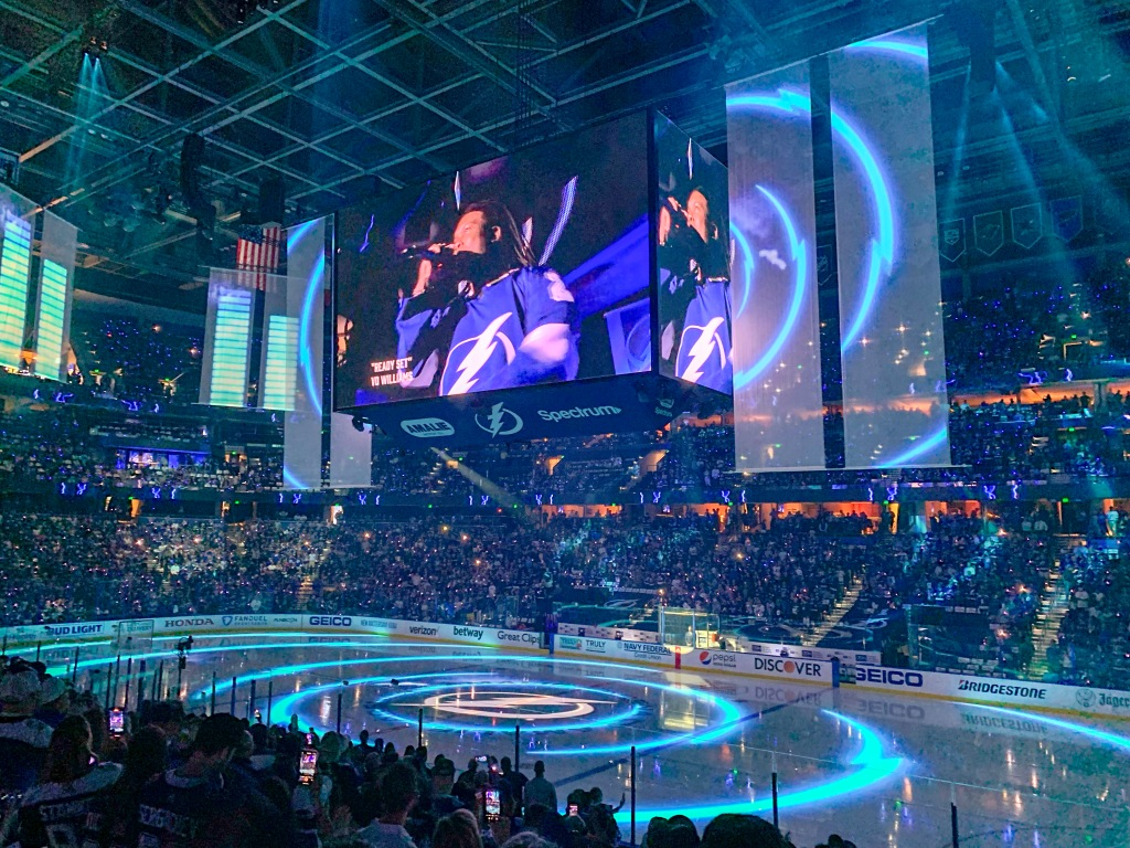 Tampa Bay Lightning Amalie Arena