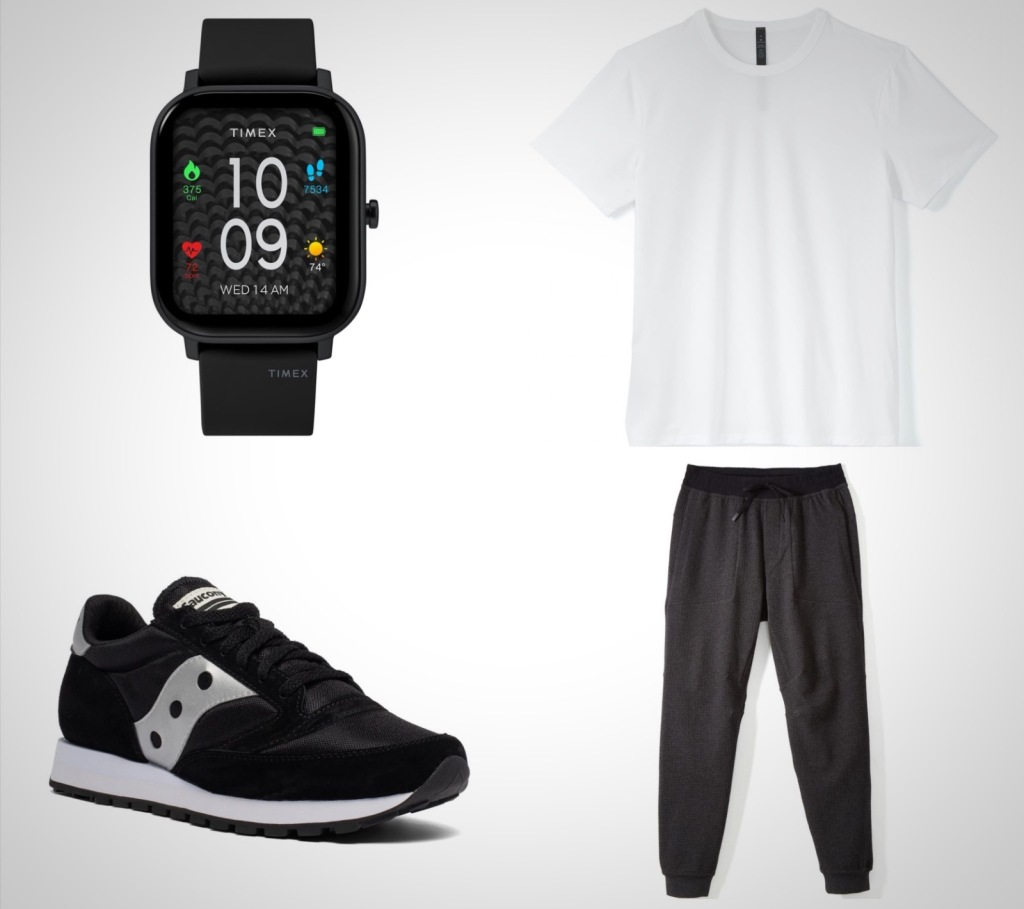 everyday essentials black and white