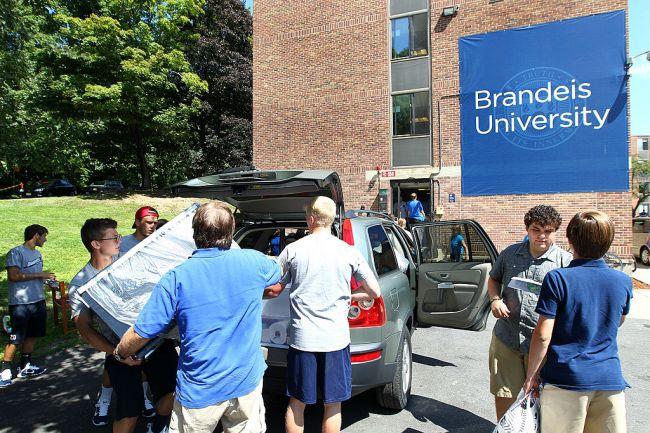 brandeis university students shouldnt say words