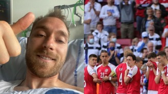 Christian Eriksen Provides First Personal Update Since Near-Death Experience At The Euros