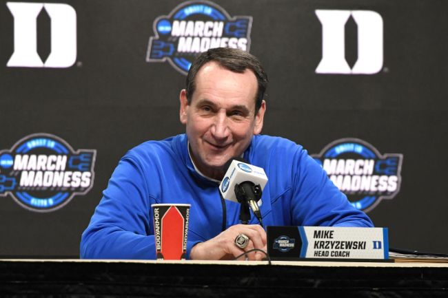coach k everytime we touch