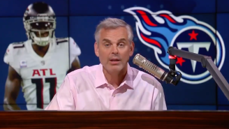 Colin Cowherd Says Julio Jones Is 'Out Of His Prime' And Doesn't Think He'll Change The Titans All That Much