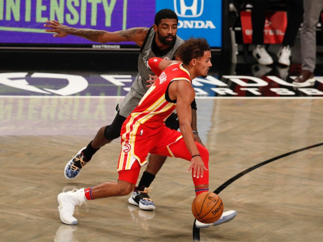 Outspoken sports personality Colin Cowherd proclaims Trae Young is a better player than Kyrie Irving; and he's right