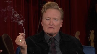 Conan Continues Epic Late-Night Farewell By Smoking Weed With Seth Rogen