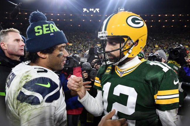 NFL Hall of Famer Deion Sanders claims superstar QBs like Aaron Rodgers and Russell Wilson are 'trippin'' with jealousy over tom Brady