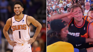 Devin Booker Tracks Down Viral Suns Fan Who Beat Up Nuggets Fan And Yelled 'Suns In 4', Calls Him A 'Legend' After Exchanging DMs