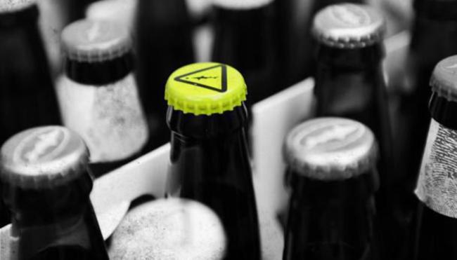 dogfish head warning bottle cap backstory