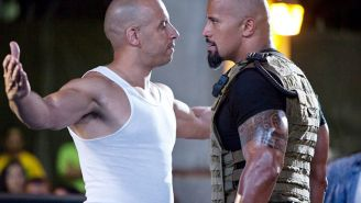 Try Not To Laugh Out Loud At This Vin Diesel Quote About Giving The Rock 'Tough Love'