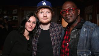 Ed Sheeran Shares How He's Been Pranking Courteney Cox For Years By Using Her Alexa To Order Her Dirty Gifts