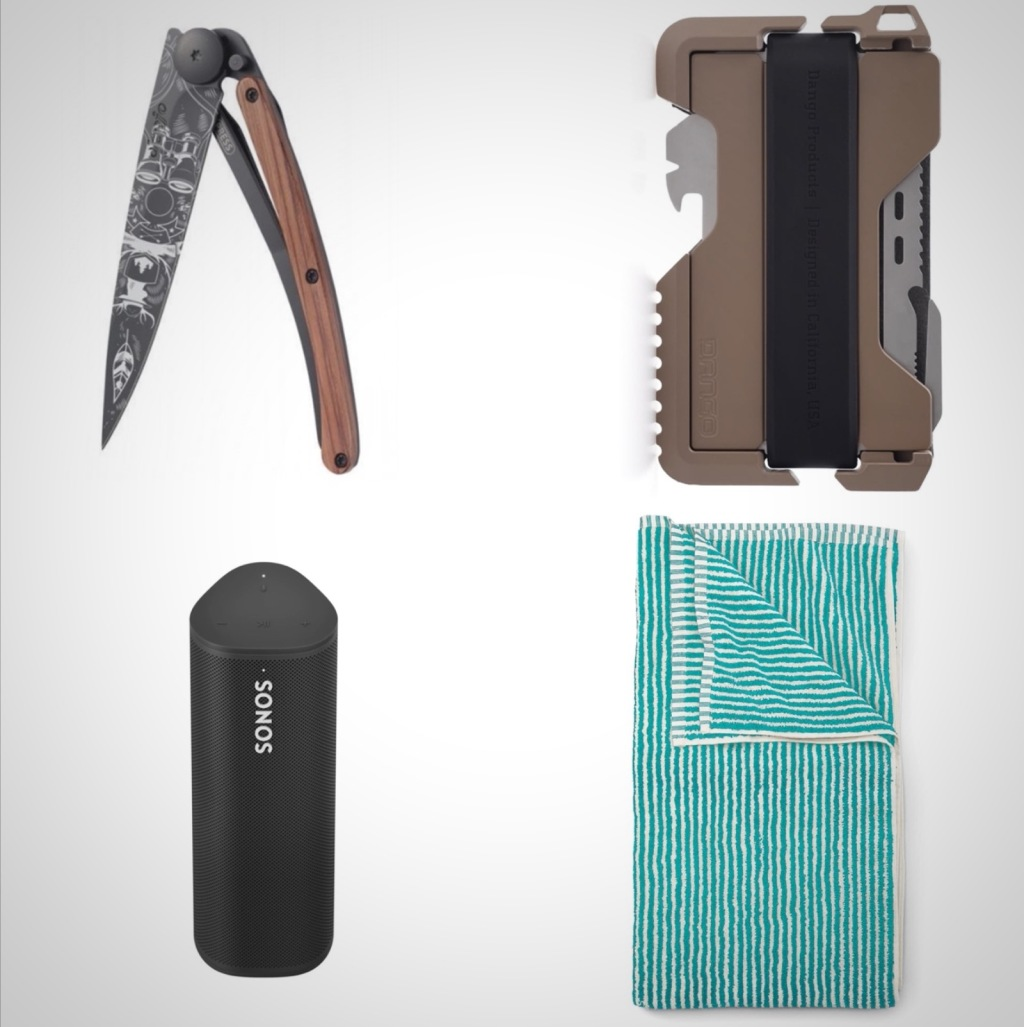 everyday carry accessories beach day