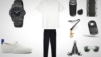 Everyday Carry Accessories: Black And White