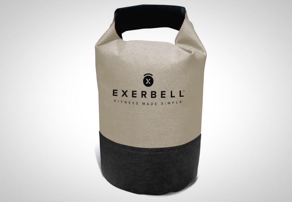 Exerbell kettlebell portable adjustable