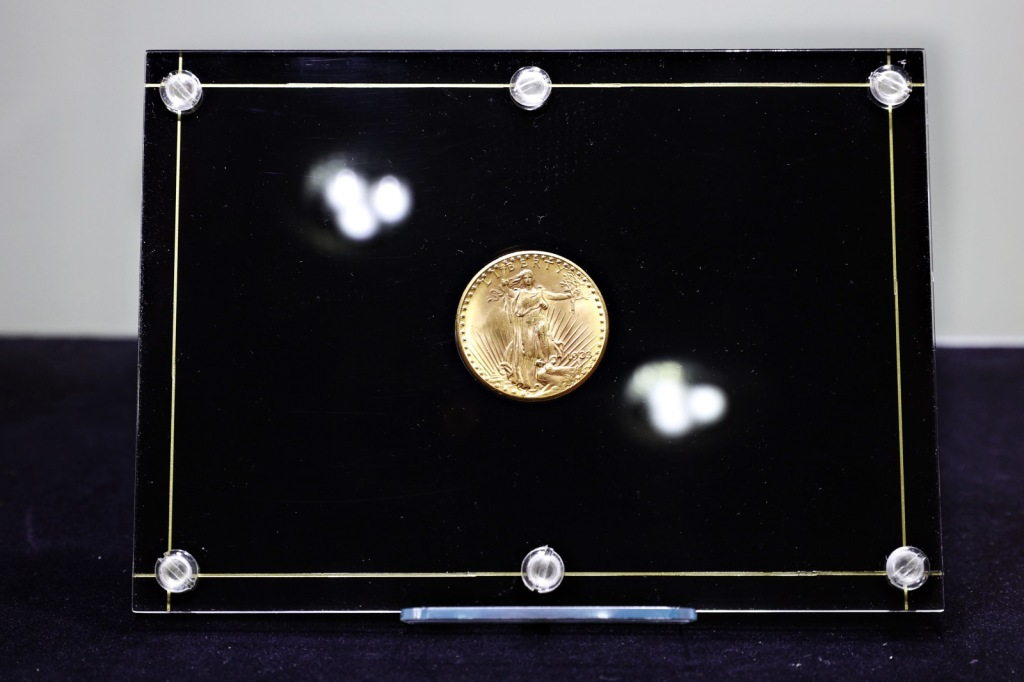 1933 Double Eagle gold coin record $18.87 million