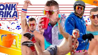 Rob Gronkowski And Pit Viper Unveil Gronk Merika 2000s – Limited Edition Gronk Pit Viper Sunglasses
