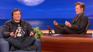 Jack Black Will Be The Final Guest On Conan's Late-Night Show