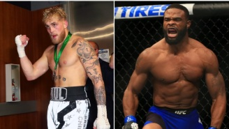 Jake Paul Says Tyron Woodley 'Will Be Dropped By A Disney Star In Two Rounds', Woodley Fires Back