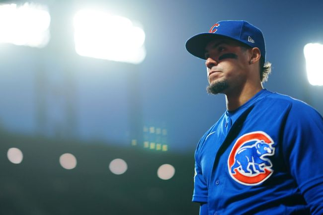 javier baez cubs reaction anthony rizzo