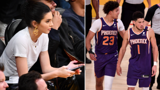 Video Shows Lakers Fans Harassing Devin Booker's Girlfriend Kendall Jenner By Yelling 'Get The F Outta Here' At Her After Team Was Eliminated