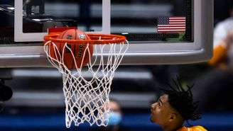 This Slo-Mo Video Of Tennessee's Keon Johnson Shattering The Combine Vertical Leap Record Is Art