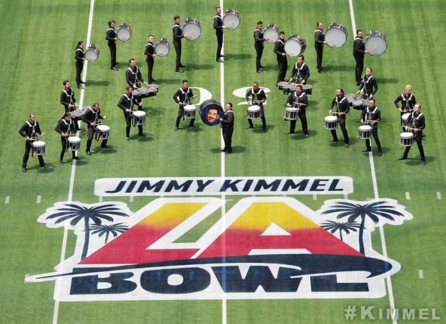 Jimmey Kimmel LA Bowl SoFi
