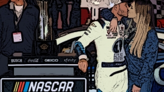 Kyle Larson Shares Hilarious Story About Passing Out And Getting Drawn On With Sharpie The Night He Met His Wife