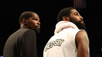 Kevin Durant, Kyrie Irving Quietly Boycotted The National Anthem Throughout The NBA Season