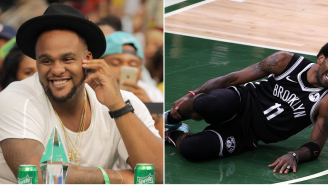 Glen 'Big Baby' Davis Continued To Take Shots At Kyrie Irving After Irving Suffered Ankle Injury 'Karma Is A MFer'
