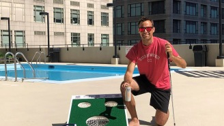 Labatt Chippo Challenge: Tune Into The Glorious Chipping Tourney Featuring George Savaricas, Blake Webber & Lots Of Trash-Talk