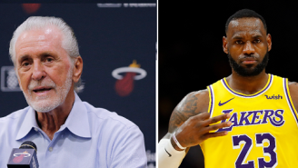 Miami Heat's Pat Riley Fined $25k For Telling LeBron James There's A 'Key Under The Mat' If He Wants To Come Back To Miami