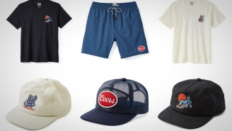 These Limited-Edition Coors Banquet Vintage-Style Tees, Hats, And Shorts Are Phenomenal