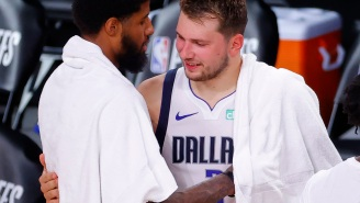 Luka Doncic Getting Bashful About Taking His Shirt Off In Public Proves Pro Athletes Are Just Like Us