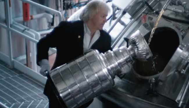 Molson Canadian Stanley Cup beer